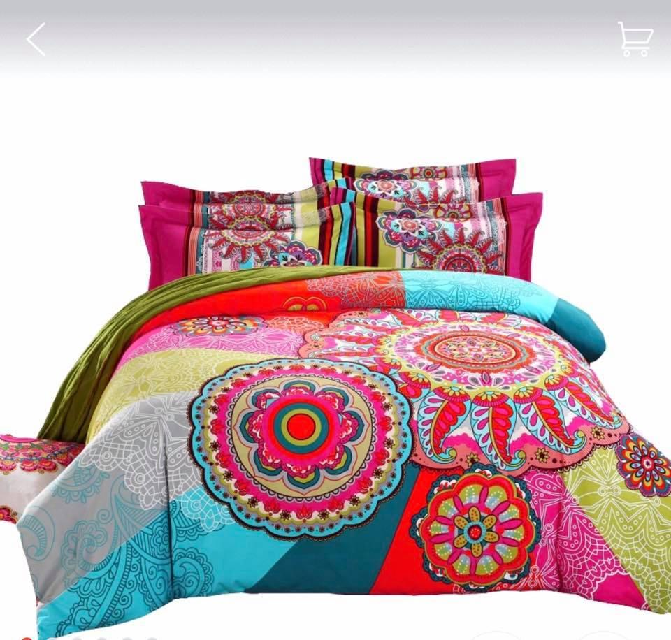 Ropa de cama modelo Mandalas Matrimonial