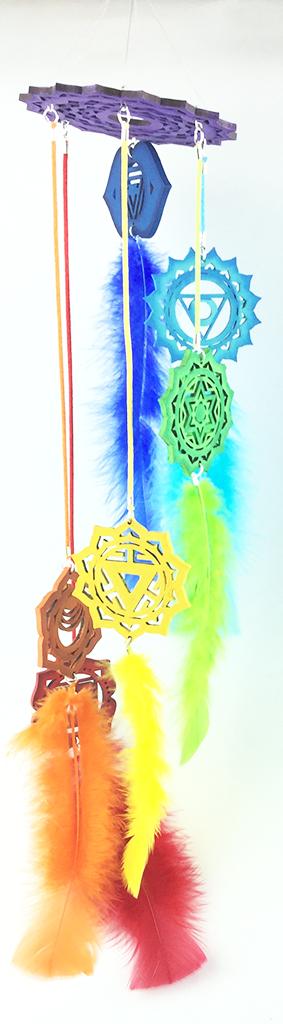 Móvil de 7 chakras