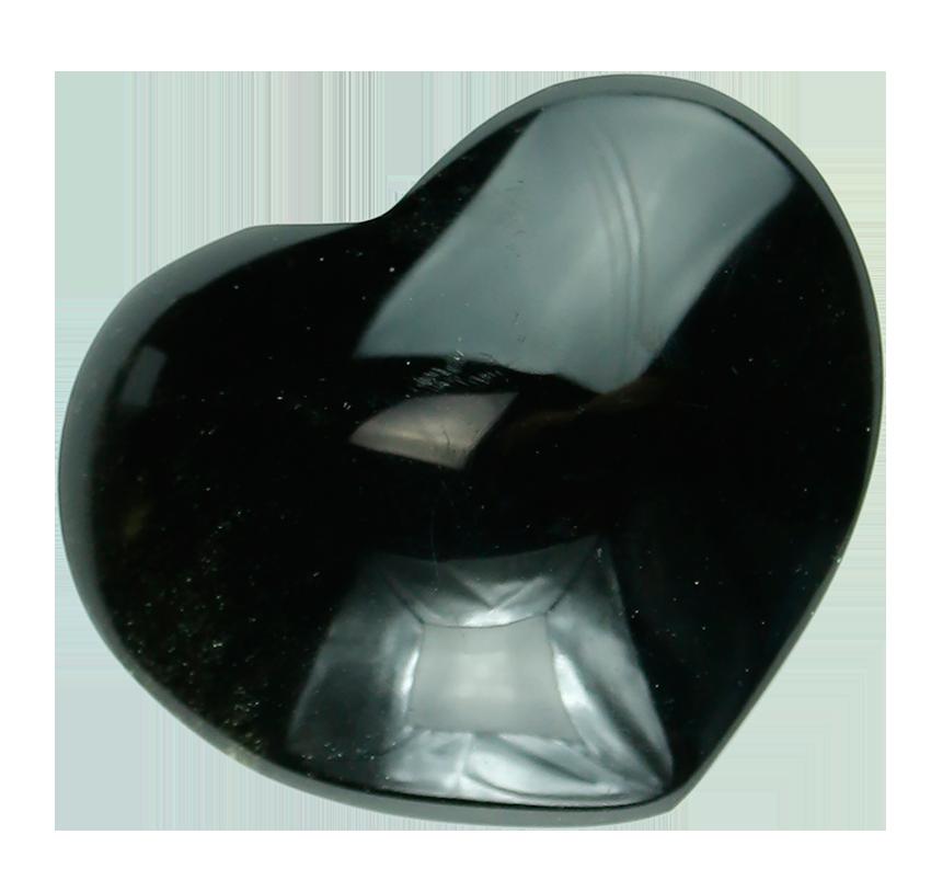 Corazón de obsidiana.