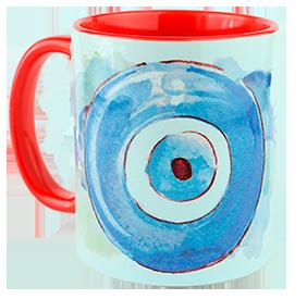 Taza de ojo turco